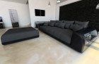 Lounge Fabric Sofa Miami darkgrey - Mineva 8