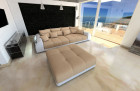 Lounge Fabric Sofa Miami sandbeige - Mineva 4