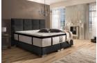 Boxspring Bed Hampton in black