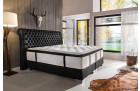 Luxury box spring bed LUXOR black