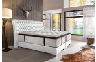 Boxing bed modern LUXOR white
