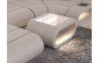 Design coffeetable Concept with LED lights - beige