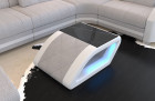 Contemporary Palm Beach coffee table with LED lighting in Hugo 2 - macciato
