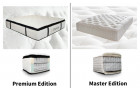 Choose your matress via drop down