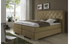 Boxspringbed Mirage in sand-beige