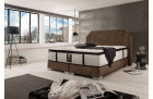 Design Boxspring Bed Rio in brown