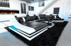 leather sofa new york CL black-white
