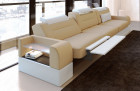3 seater sofa San Francisco with electric relax function sand beige Mineva 4