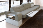 Three-seater upholstered sofa San Francisco with relax function grey Hugo 4