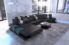 Luxury Living Landscape Beverly Hills U Shape with LED Lighting - black-white
