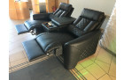 Cinema armchair Relax leather with cooling cup holder and recliner function
