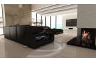Sectional Fabric Sofa Houston XL black - Mineva 14