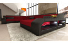 modern fabric sofa Houston XL red - Mineva 20