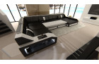 Sectional Leather Sofa Houston XL with sofa bed