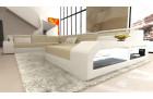 Desifn fabric sofa Houston with LED beige - Hugo 1