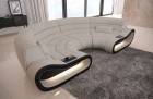 Modern Sectional Sofa Concept LED lights - Fabric Hugo 1
