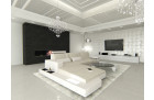 Design Corner Sofa Los Angeles with LED ivory - Hugo 1