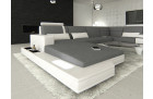 Design Fabric Sofa Los Angeles U Shaped grey - Hugo 5