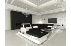 Sectional Frabric Sofa Los Angeles LED black- Mineva 14