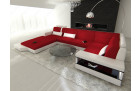 Sectional Frabric Sofa Los Angeles LED red - Mineva 20