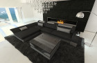Modern Fabric Sofa Chicago L Shaped grey - Hugo 12