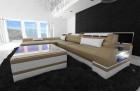 luxury sofa chicago L Shape sandbeige-white