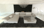 Modern Fabric Sofa Chicago L Shaped sand- Hugo 2