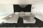 Modern Fabric Sofa Chicago L Shaped sand- Hugo 2