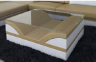Modern Coffee Table sandbeige-white
