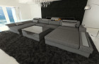 Modern Fabric Sofa Chicago U Shaped grey - Hugo 5