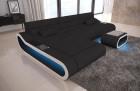 Design Couch Sofa Concept Microfiber - black Mineva 14
