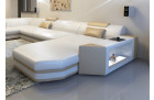 white sectional corner sofa