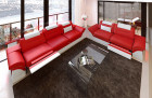 Sectional Sofa 2-3-1 Chicago LED red-white