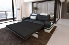 optional bed function for the 2-seater (does not work in combination with the relax function)