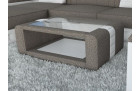 Modern Fabric Table Boston sand - Hugo 3