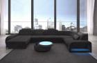 Upholstered sofa Charlotte Woven Chesterfield Couch- dark grey Hugo 12