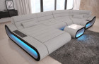 Luxury Fabric Sofa Concept U Shape - Hugo 2