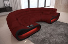 Luxury Sectional Couch Concept LED lights - Microfibre Fabric Mineva 10