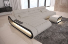 Modern Sectional Sofa Concept LED lights - Structured Fabric Hugo 1