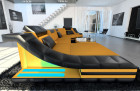 design sofa New York with LED orange (Mineva 3)