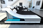 Modern Fabric Sofa New York with LED black(Mineva 14)