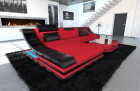 Modern Fabric Sofa New York L Shape red (Mineva 20)