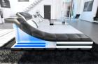 Luxury Sectional Sofa New York L Shape LED white-black