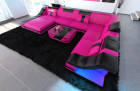 Mega Sofa New Yoerk XL in pink black