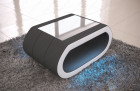 fabric coffee table concept - microfibre grey Mineva 8