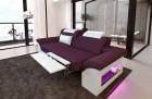2 seater sofa sofa Chicago with recliner function - lilac Mineva 13