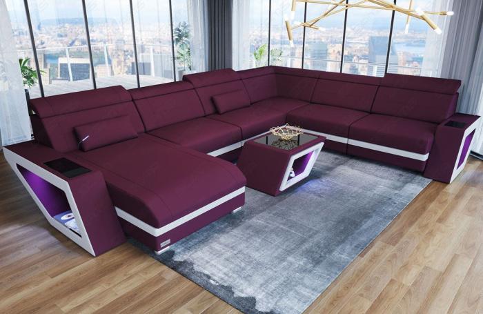 Stof Sofa Catania XL | Designer Modulsofa | Easy Clean ...