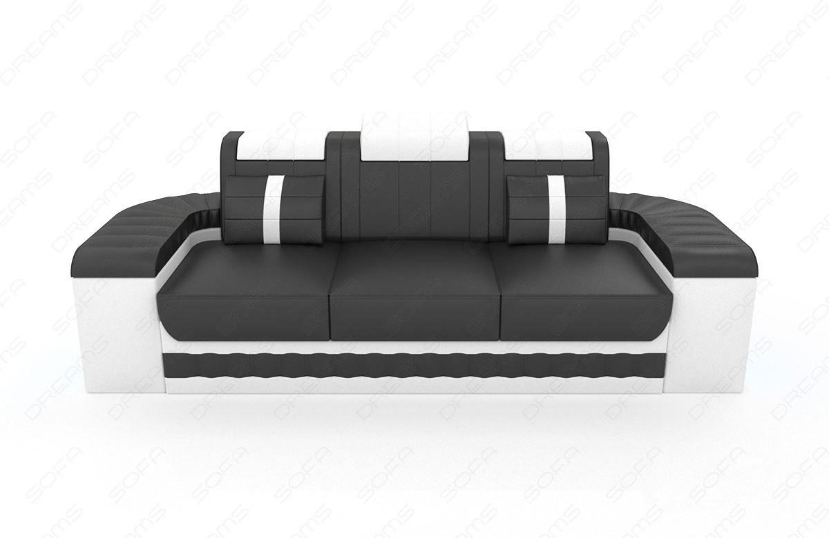 Ekstra Boston 3-2-1 LED | Leather sofa sets | SofaDreams RP24