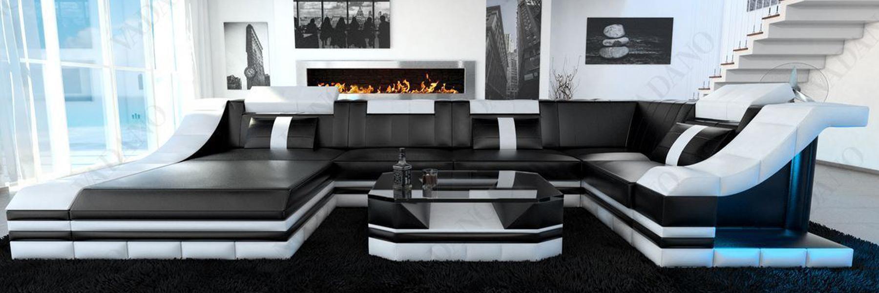 Luksus sofa komponere levende landskaber og købe online