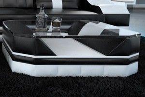 Læder sofaborde